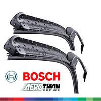 600/575мм BMW Serie 5 [E60, E61] 2005-2010 дворники Bosch AeroTwin A955S Склоочисники