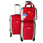 Комплект из двух чемоданов, ABS+PC+ткань Kaiman, фото 4