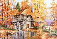 """Набор для вышивания крестом """"Luca-s"""" B481 Осенний пейзаж"""