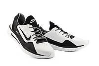 Мужские кроссовки кожаные весна/осень белые-черные CrosSAV 316 Sport, фото 1