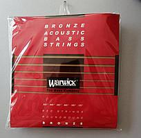 Струни для акустичної бас-гітари WARWICK 35302 (.025-.135)