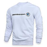 Свитшот мужской белый BMW с лого WHT L(Р) 19-506-001