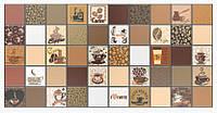 Панель ПВХ Регул Мозаїка Кави з молоком коричневий 955х488 мм