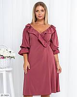 Платье женское нарядное большие размеры Г05337, фото 1