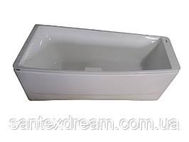 Ванна VOLLE асимметричная без гидромассажа 1700*750*630 мм правая, TS-102/R