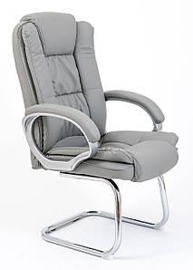 Офисное конференц-кресло Richman Калифорния-CF хром светло-серое