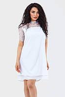 Женское коктейльное платье Alexis, белый