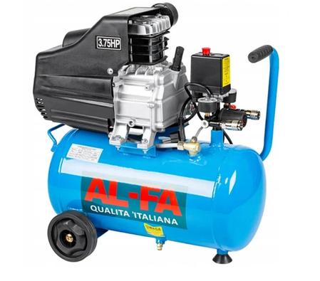 Компрессор AL-FA ALC-24 - 2.8 кВт - 24 л. / Гарантия 1 год, фото 2