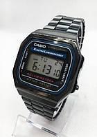 Часы мужские наручные электронные CASIO (Касио), черные ( код: IBW413B )