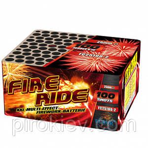 Фейерверк FC25100-2 FIRE RIDE салют 100 выстрелов)