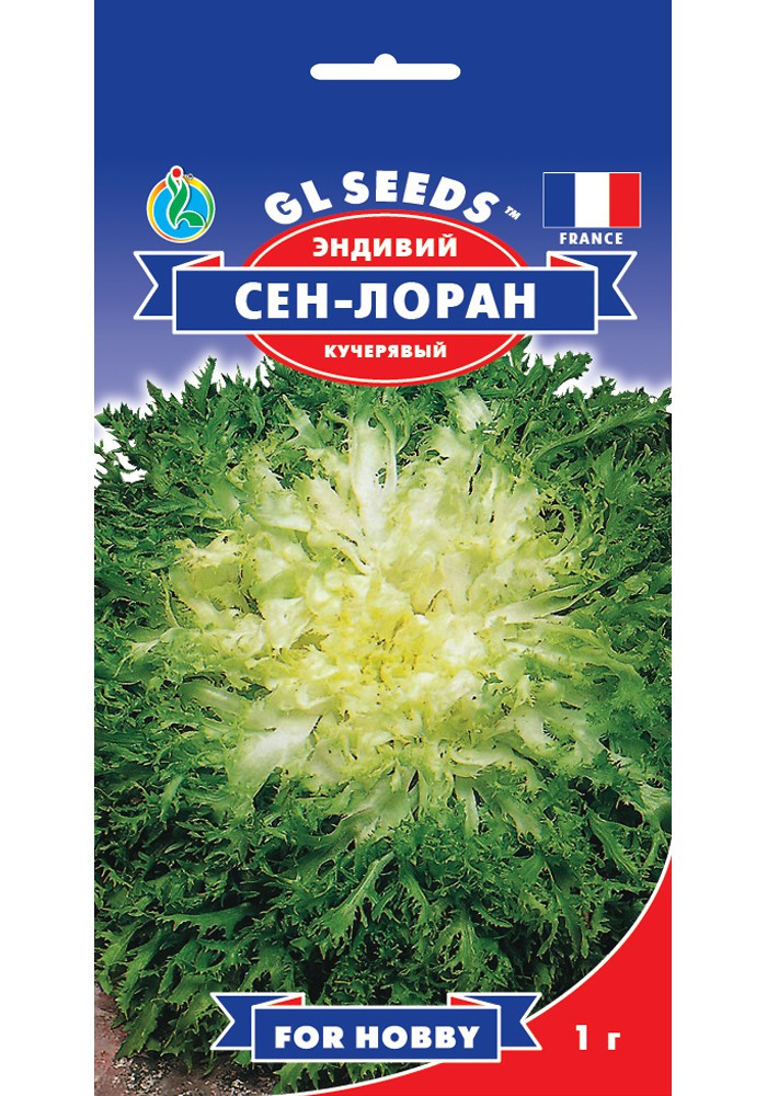 "Семена Салата ""Эндивий Сен-Лоран"" (1г), For Hobby, TM GL Seeds"