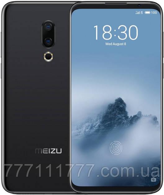 Смартфон мейзу черный с хорошей двойной камерой на 2 sim Meizu 16th M882H 6/64Gb black Global Version