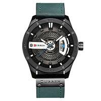 Оригинальные мужские наручные часы Curren 8301 Light Blue-Black