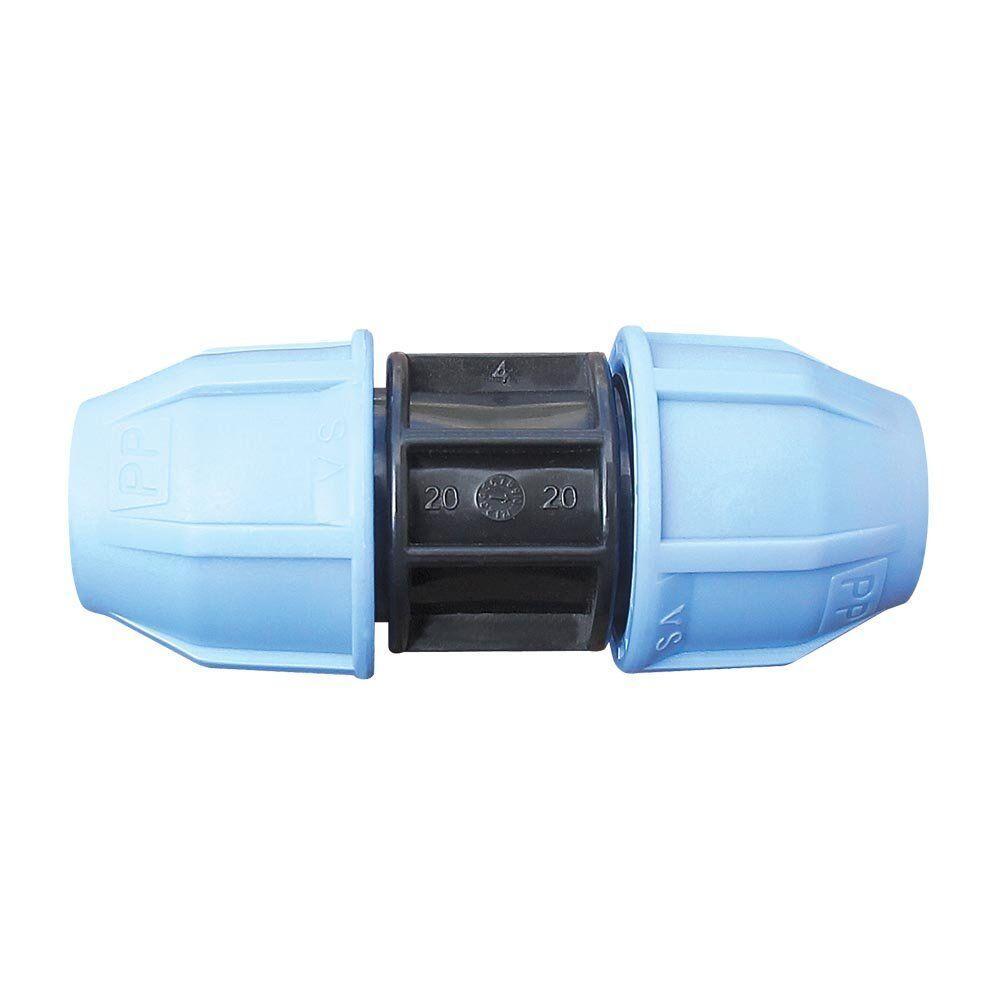 Муфта VS Plast 2001 50х50 мм для полиэтиленовых труб соединительная