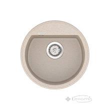 Кухонная мойка Vankor Easy 45x45 beige + сифон (EMR 01.45)