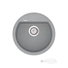 Кухонная мойка Vankor Easy 45x45 gray + сифон (EMR 01.45)
