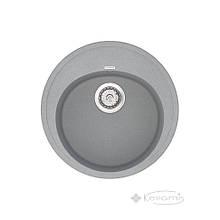Кухонная мойка Vankor Sity 51x51 gray + сифон (SMR 01.50)