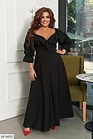 Платье женское нарядное большие размеры Г05332, фото 1