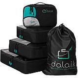 Сумки-органайзеры для чемоданов Dalaik, 4 шт. + чехол, фото 2
