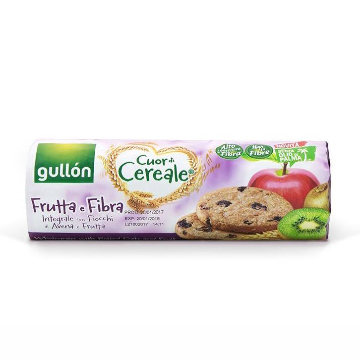 Печиво GULLON tube CDC фруктове зі злаками, 300г, 16шт/ящ