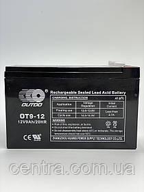 Гелевый аккумулятор OUTDO 12V-9Ah (12V9Ah/20HR) OT 12-9