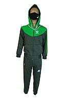 Костюм спортивный adidas.детский спортивный костюм серый