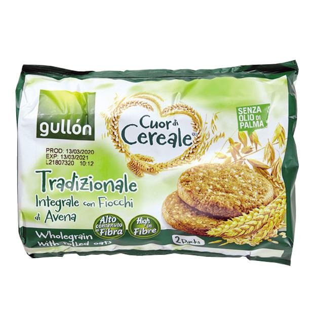 Печиво GULLON tube2 CDC Традиційне, 560г, 8шт/ящ