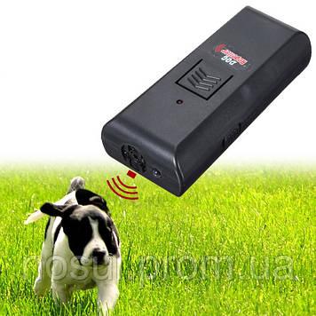 Отпугиватель черный ультразвуковой для собак и кошек