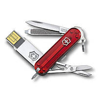 Нож Victorinox c USB-модулем на 16 Гб 58 мм Красный (4.6125.TG16B)