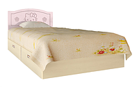 Кровать Вальтер Kiddy розовый и светлый венге