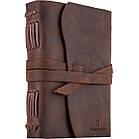Кожаный блокнот COMFY STRAP А5 14.8 х 21 х 4 см с ручкой В линию Коричневый (006), фото 2
