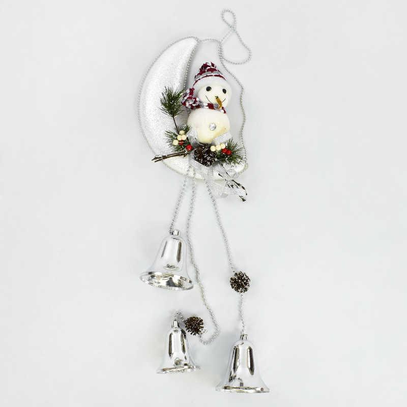 Декоративная композиция Снеговик на луне C 30427 (60)
