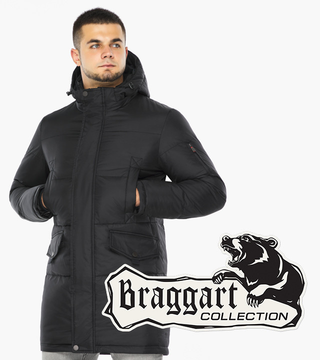 Braggart Dress Code 47620 | Мужская зимняя куртка черная