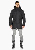 Braggart Dress Code 47620 | Мужская зимняя куртка черная, фото 3