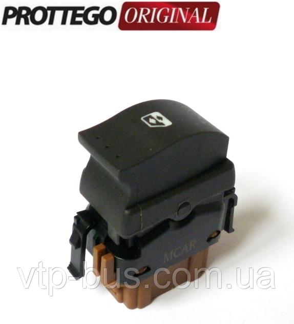Перемикач 1 кнопка склопідіймача на Renault Trafic (2001-2014) Prottego (Польща) JAD96977J