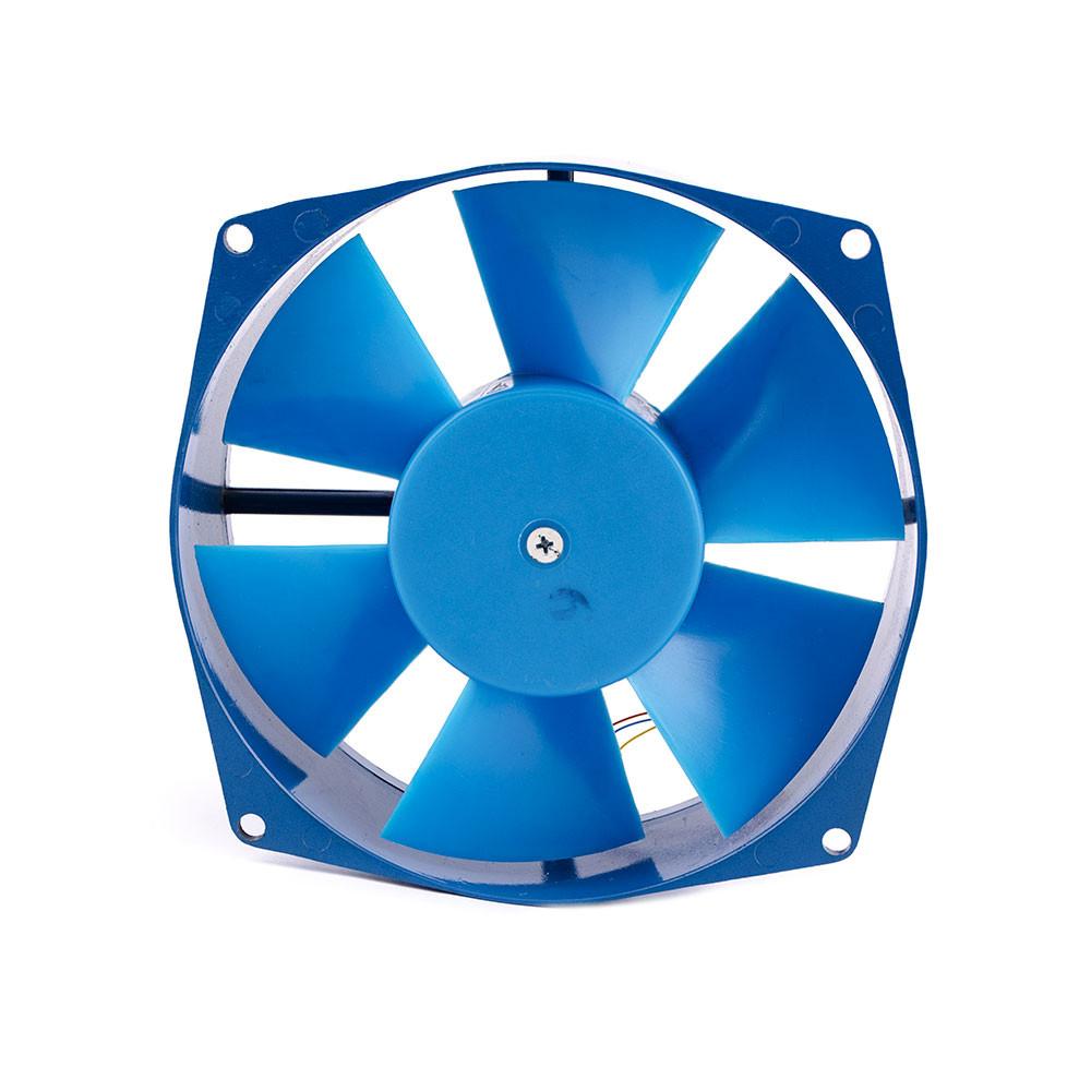 Осьовий вентилятор Турбовент Бенето 150 синя