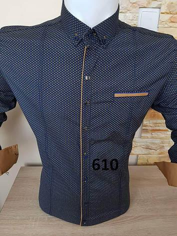 Рубашка длинный рукав G-Port*610 с принтом, фото 2