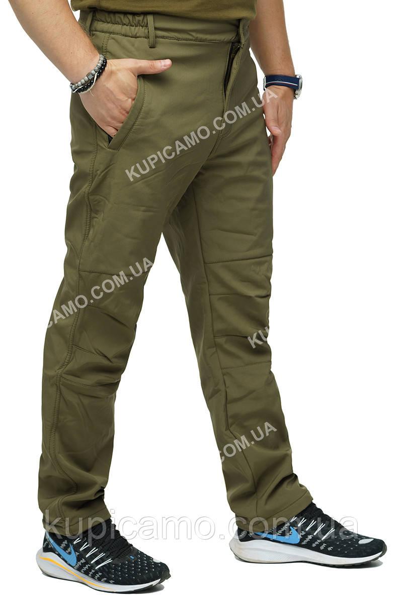 """Тактические брюки """"Soft Shell"""" Олива"""