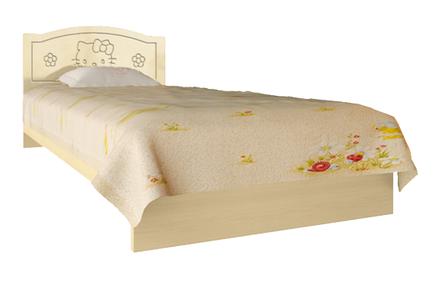 Ліжко Вальтер Kiddy ваніль і світлий венге, фото 2