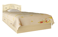 Кровать Вальтер Kiddy ваниль и светлый венге