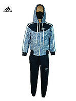 Костюм спортивный adidas.детский спортивный костюм синий