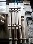 Мебельные ножки и опоры резные деревянные для стола H.600 D.70, фото 3