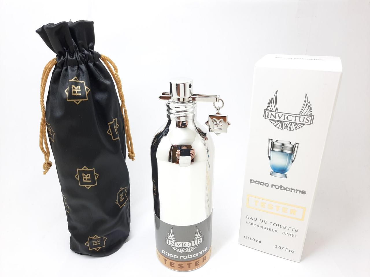 Тестер мужской парфюмированой воды Paco Rabanne Invictus MONTALE (Пако Рабан Инвиктус) 150 мл