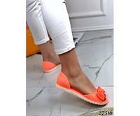 Сандали силикон с открытым носком, фото 1
