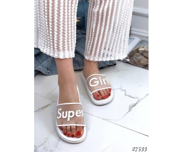 Шлепанцы Super Girl