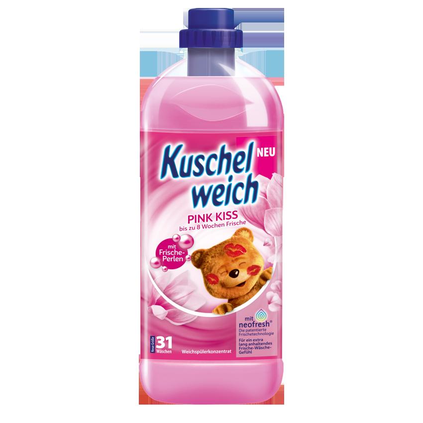 Кондиционер-ополаскиватель для белья Kuschelweich Pink Kiss, 1L