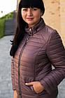 Осенняя женская куртка больших размеров - модель 2020- (кт-491), фото 3