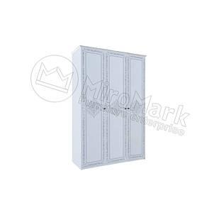 Шкаф Луиза 3 дв без зеркал Белый глянец ТМ МироМарк