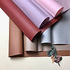 Крафт бумага двухсторонняя в листах нежно розовая, фото 3