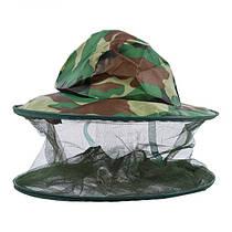 Шляпа с сеткой от комаров